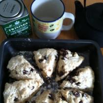 granma scones and tea