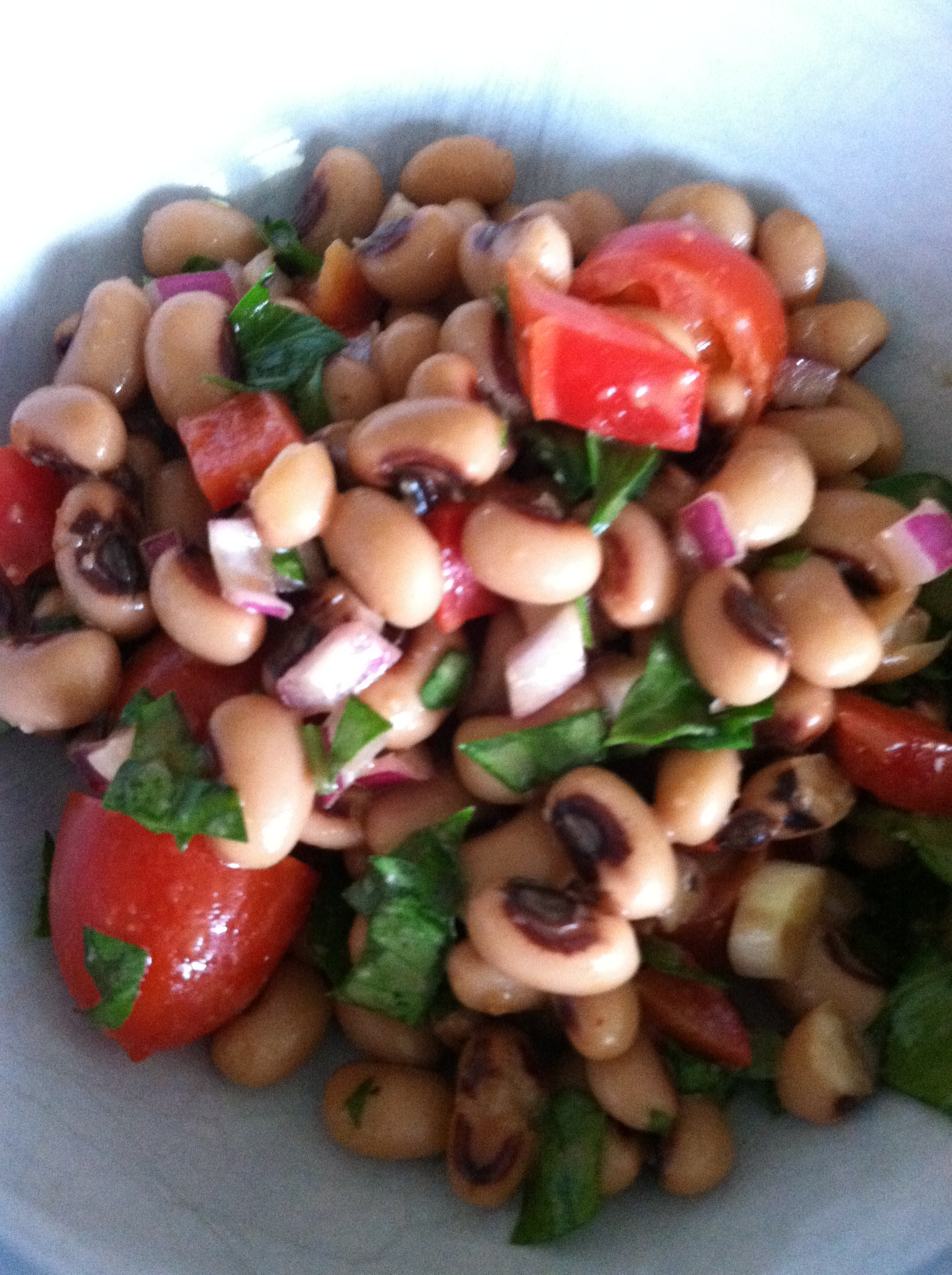 Black-Eyed Pea Salad | Cook and Count