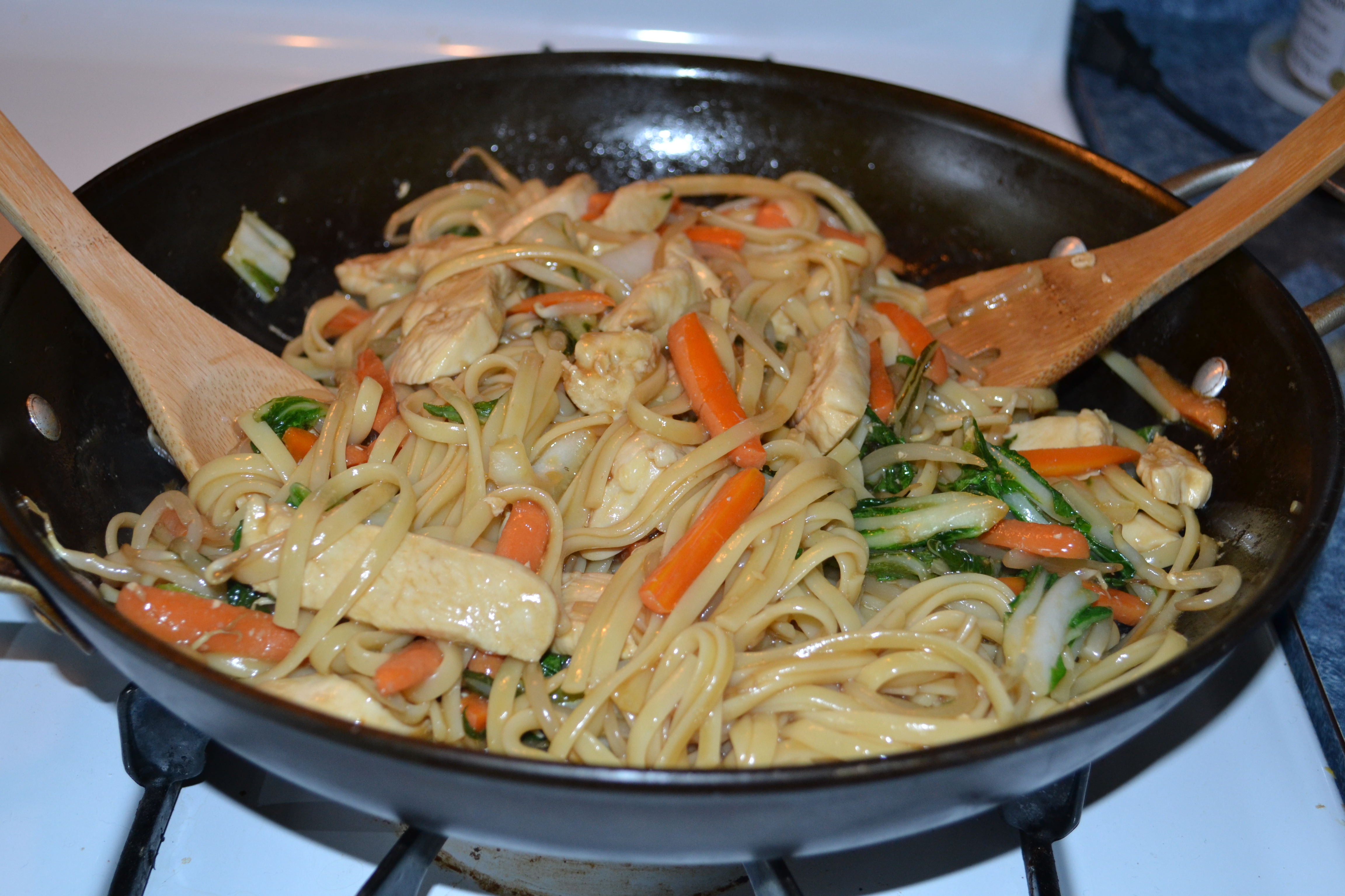 Chicken Lo Mein with Bok Choy – Cook and Count