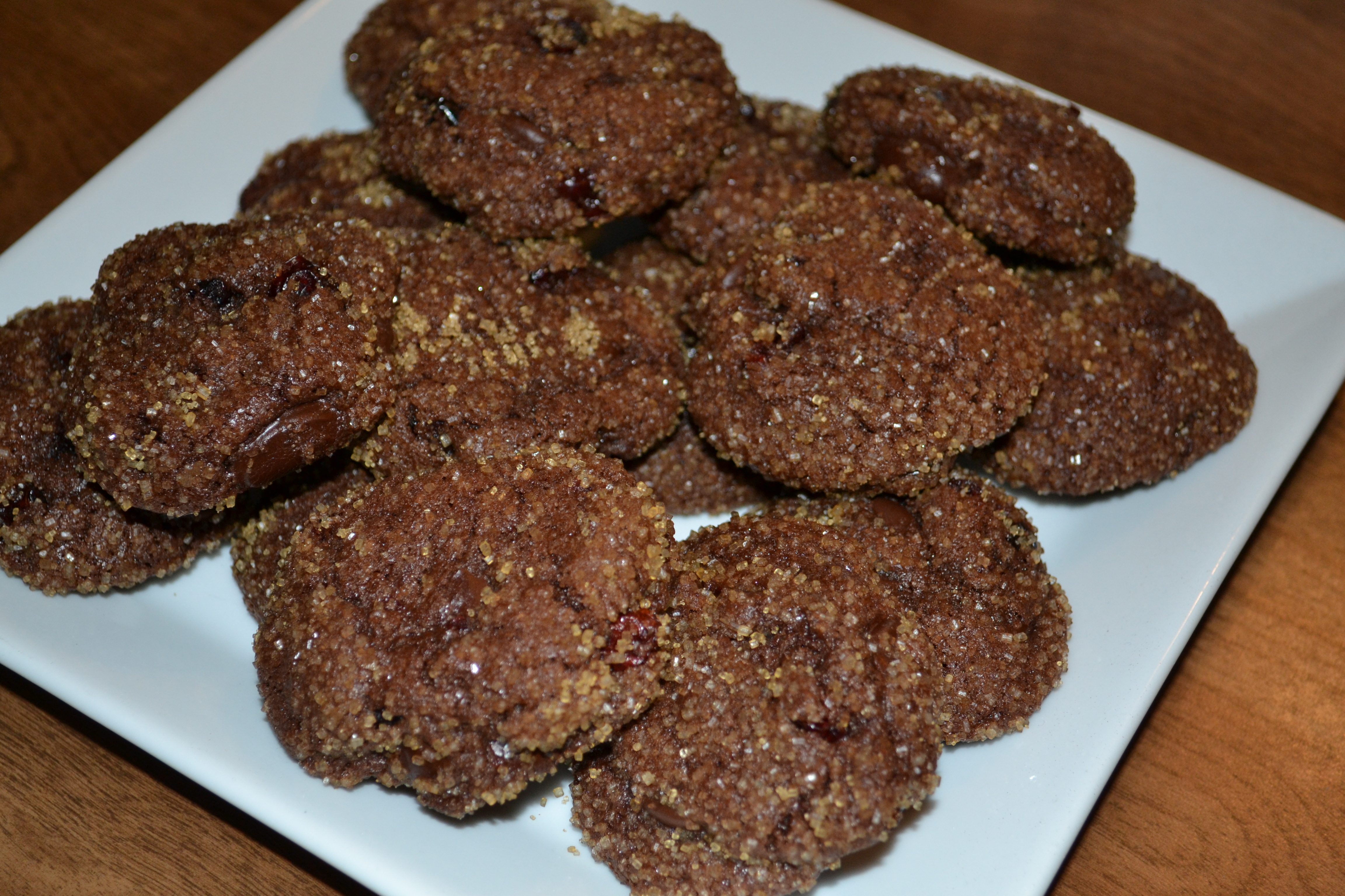 Cookie Time: Double Chocolate-Cherry Cookies – Cook and Count