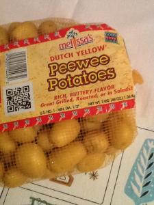 baby yellow potatoes