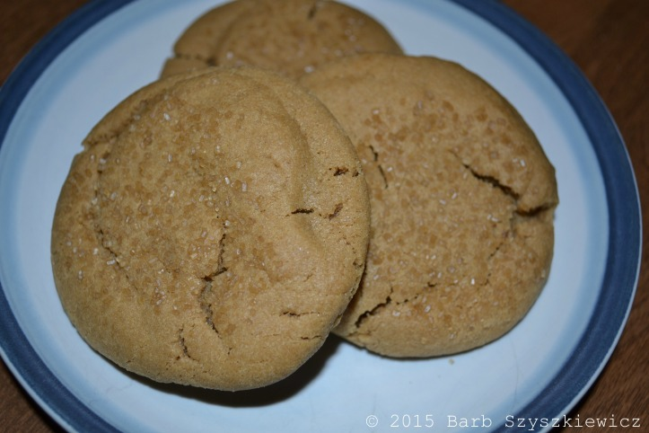 bakers dozen PB cookies PLATED