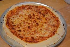 pizza using calzone dough