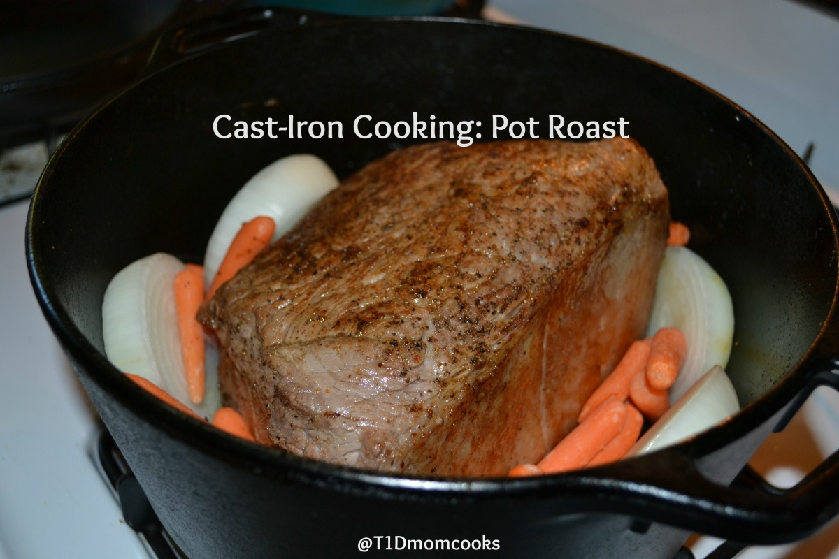 Cast-Iron Cooking: Rump Roast – Cook and Count