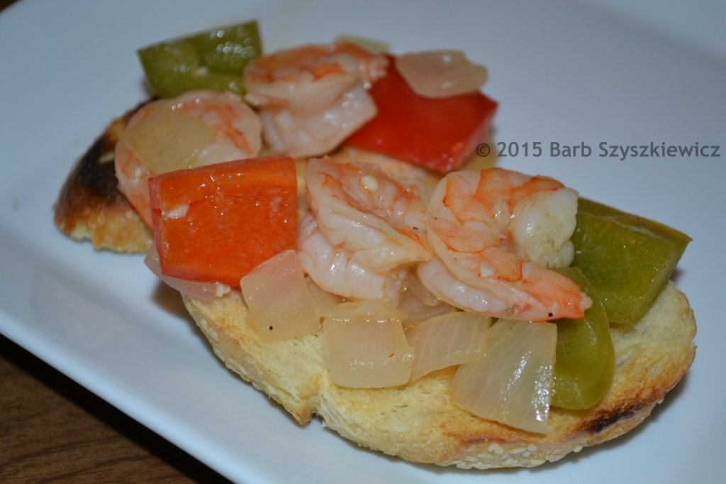 SG shrimp on toast 1