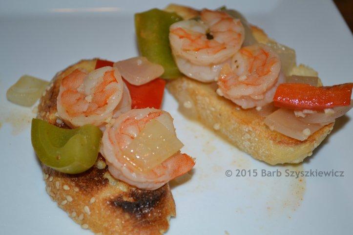 SG shrimp on toast 4