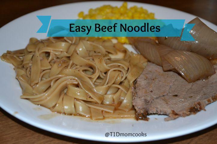 Easy Beef Noodles C T