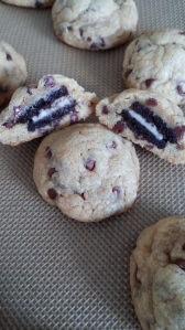 oreo choc chip cookies
