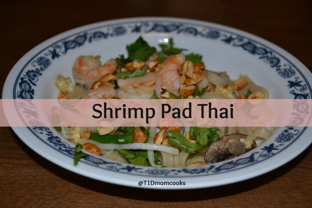 shrimp pad thai 6 T C