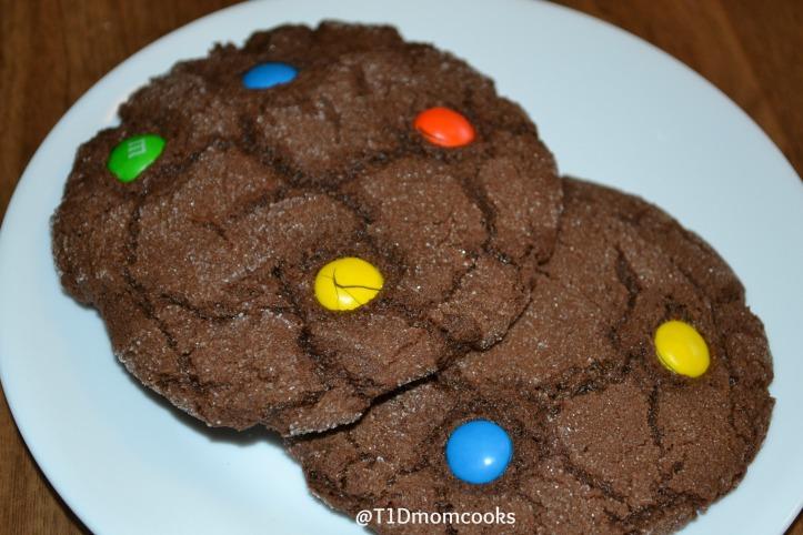 double choc mm cookies (4) c