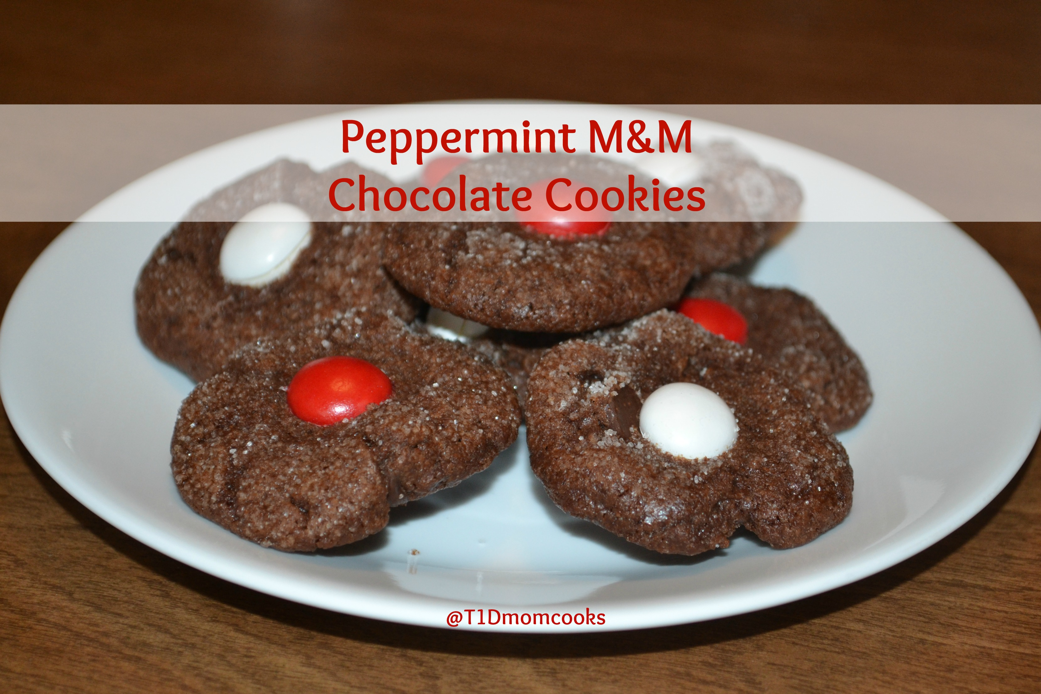 Cookie Time Peppermint M M Chocolate Cookies Cook And Count