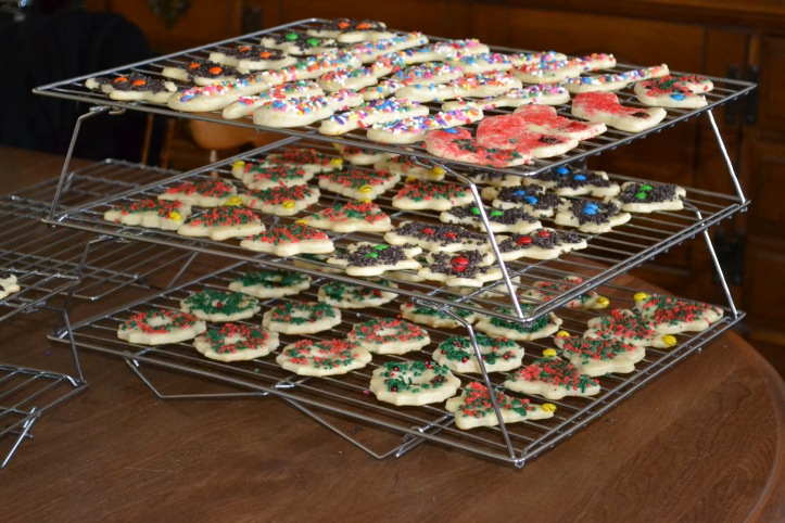 rack of cookies