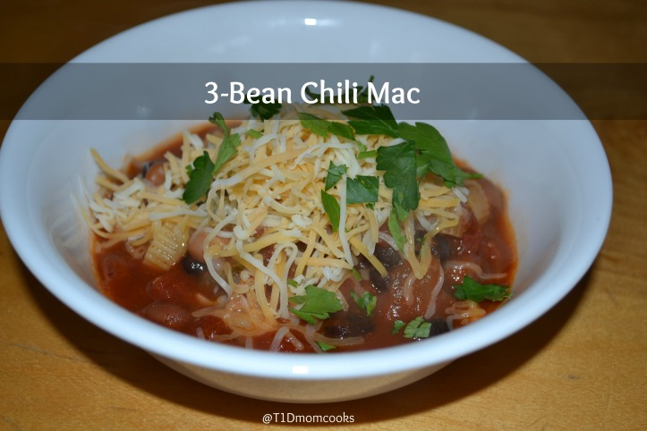 3 Bean Chili Mac T C