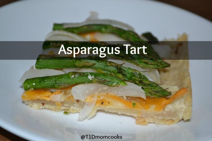 asparagus tart (1) T C