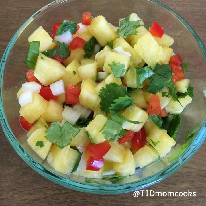 Pineapple-salsa C