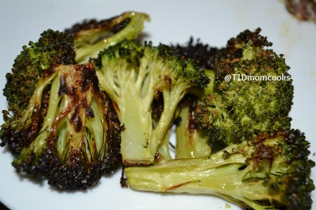 Roasted Broccoli by Barb Szyszkiewicz for CookandCount.wordpress.com