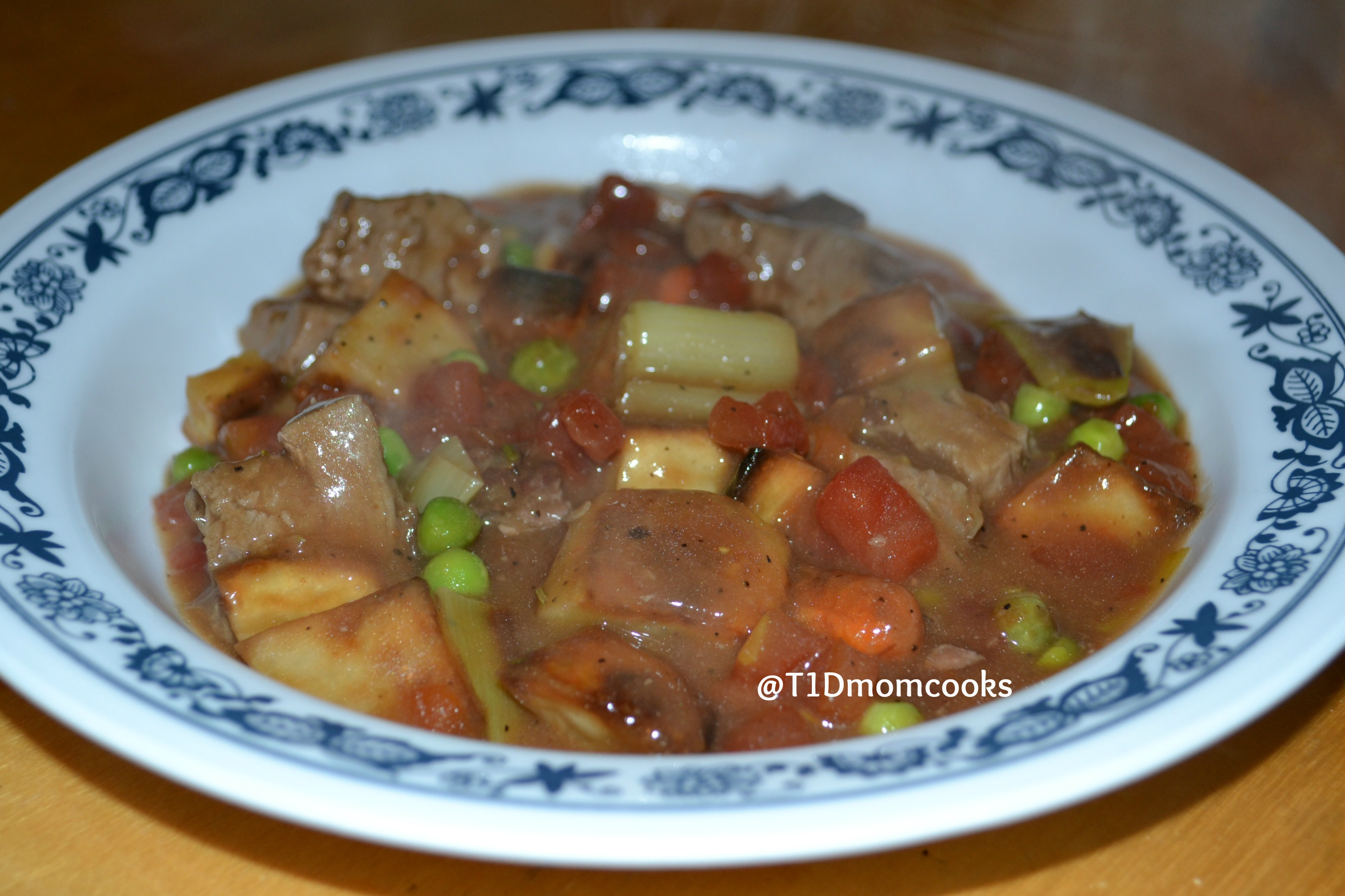 Lamb Stew with Roasted Root Vegetables (Barb Szyszkiewicz, cookandcount.wordpress.com)