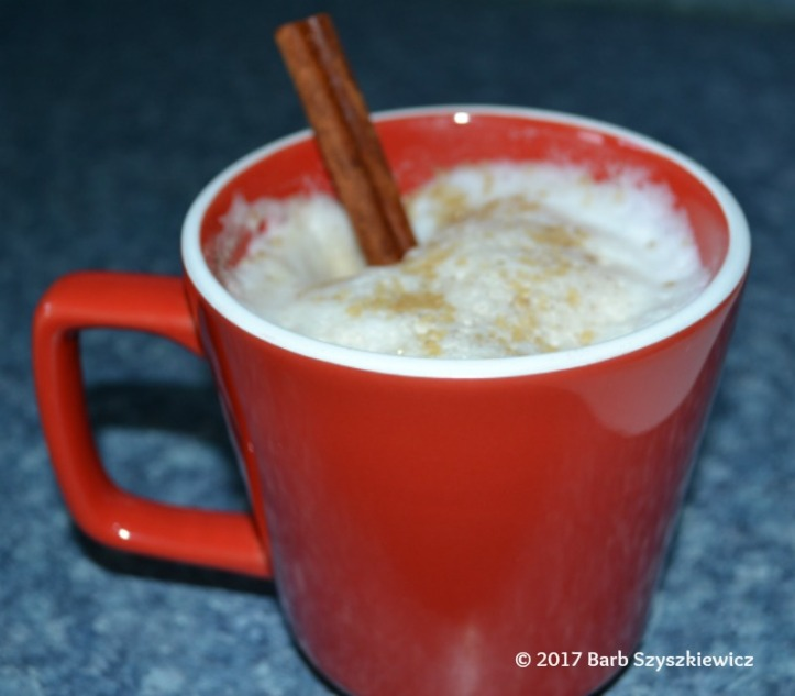 Fancy Cinnamon Coffee by Barb Szyszkiewicz (CookandCount.wordpress.com)