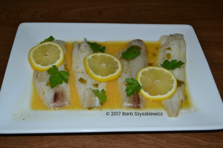 fish with citrus mint sauce (3c)
