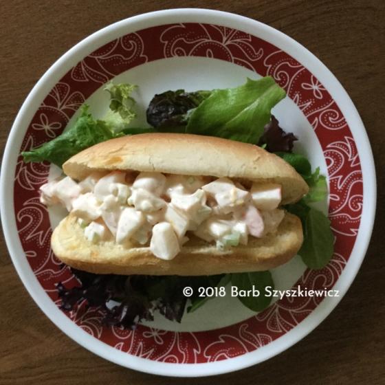 """""""Low-budget seafood rolls"""" by Barb Szyszkiewicz (CookAndCount)"""