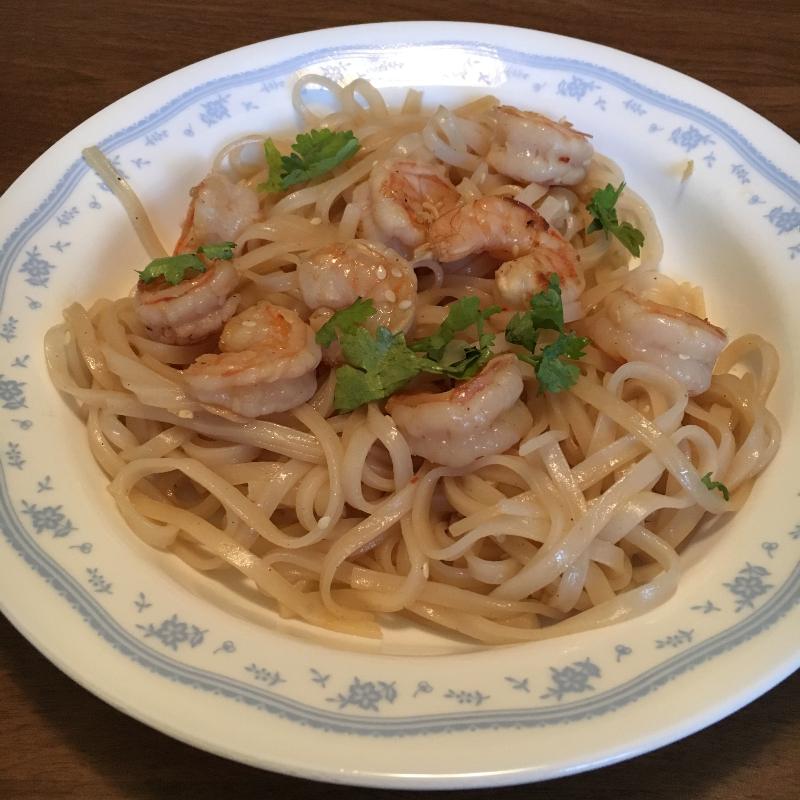 Lukes Cold Shrimp Noodles 1