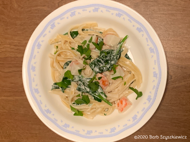 seafood pasta spinach 2c