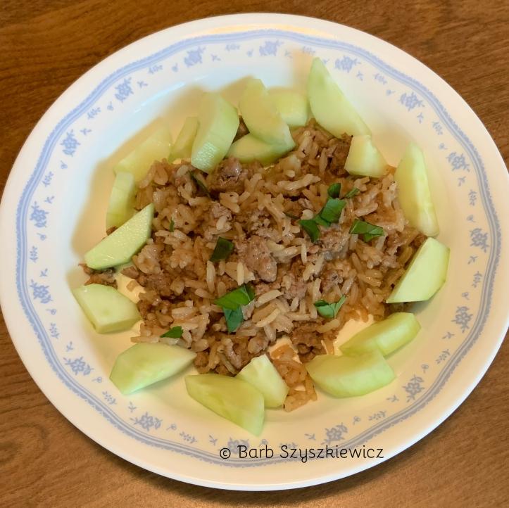 Lebanese Lamb Rice for 2