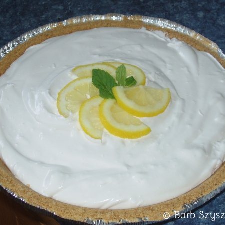 Lemonade Pie (CookAndCount)