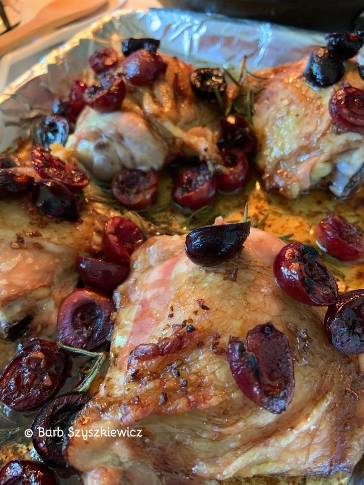 balsamic chicken bing cherries 2